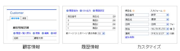 オープンソース顧客管理システムL03